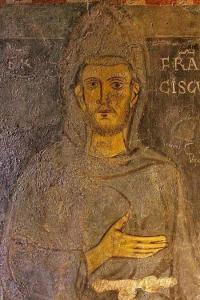 St. Francis, portrait from life, Abbey of Subiaco