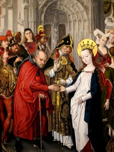 Betrothal of Mary and Joseph, ca. 1485, Museum Catharijneconvent, Utrecht