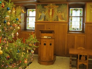 Refectory: reader's stand