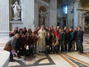 Fr. Nickolas: hello from Saint Peter's