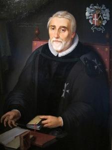 Andries Pietersz van Souwen (1549/50-1624), Knight of Malta
