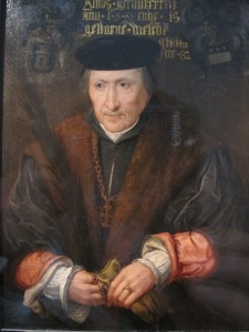 Hendrik van der Veere, Knight of the Holy Sepulchre. 1551.