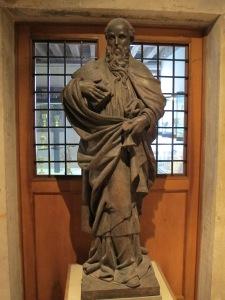 Saint Anthony Abbot, 16th century.  Museo Ciocesano, Venice.