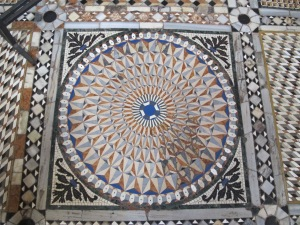 Mosaic pavement, Saint Mark's, Venice