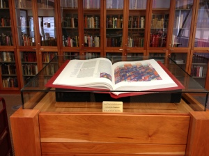 Santa Clara University:     Saint John's Bible Exhibit