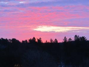 Dawn at Saint John's Abbey