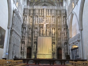 Saint Alban's Abbey.12.Reredos