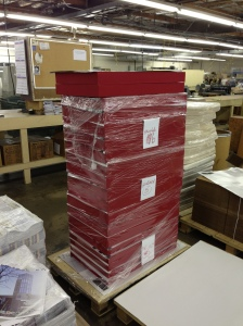Volumes ready for delivery