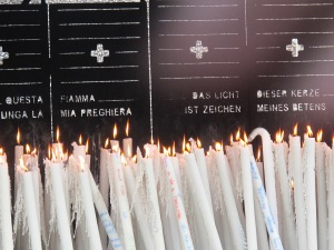 13.Candles at Lourdes