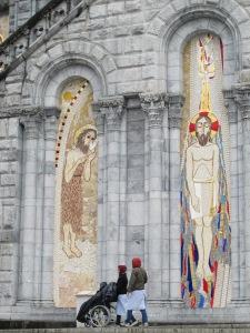 36.Mosaic at Lourdes