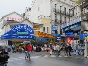 53.The streets of Lourdes
