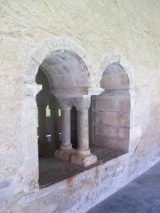 56.Windows at Saint Savin
