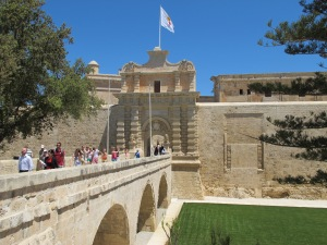 1.Entrance to Mdina