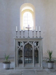 Abbey church, west end