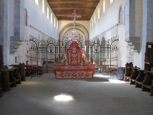 Abbey church, choir