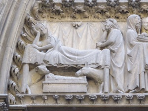 Nativity.  Cathedral of Notre Dame, Paris.
