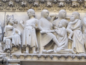 The Holy Innocents.  Notre Dame, Paris.