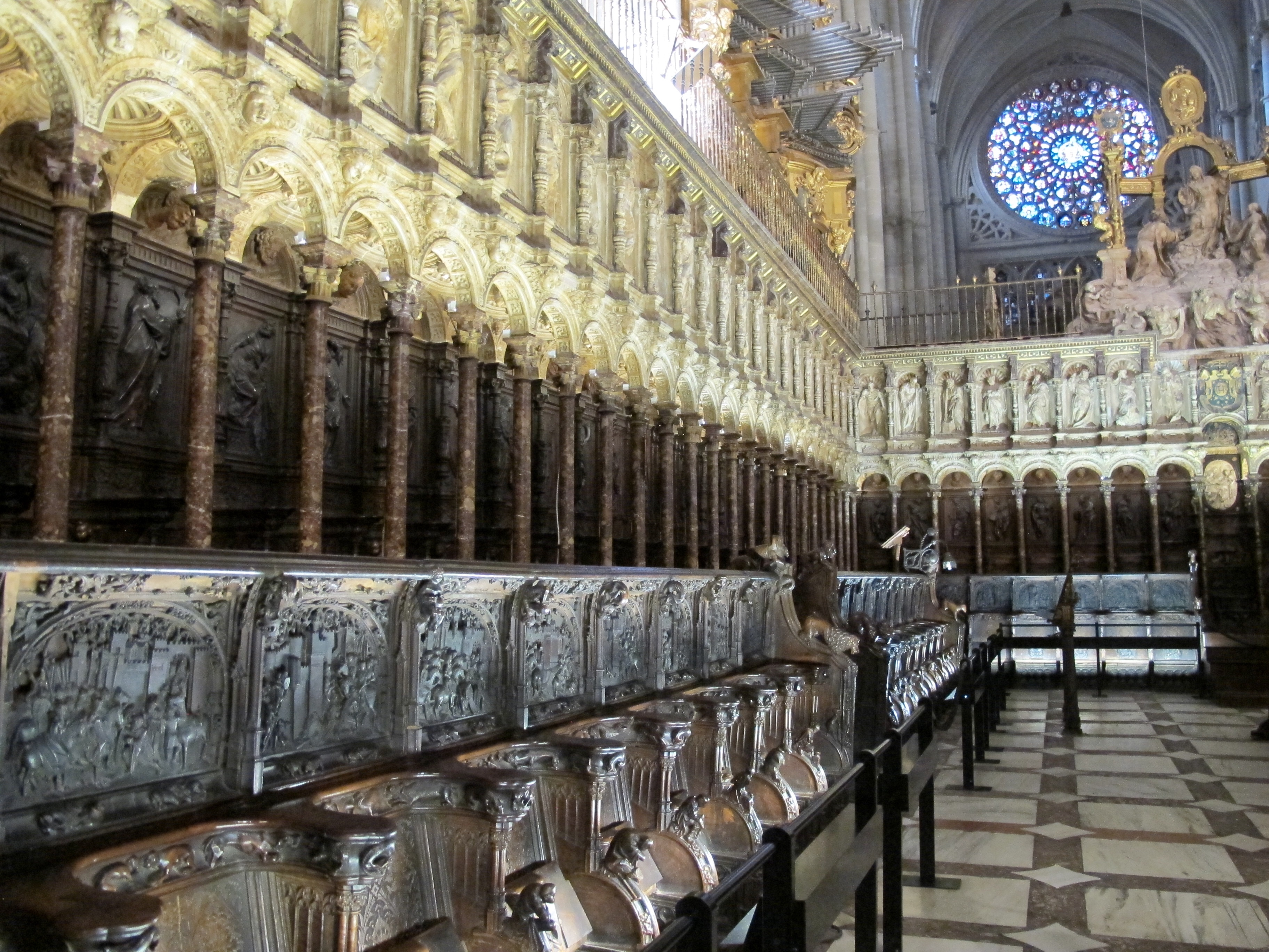Cathedral of Toledo Spain | A Monk's Chronicle